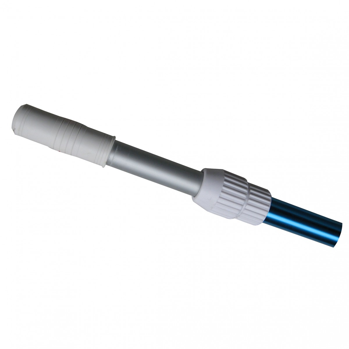 2 Section telescopic pole with easy lock device, 6 feet extend upto 12 feet