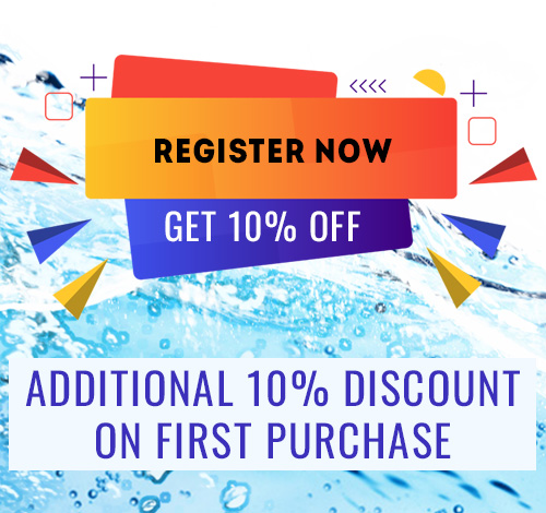 Register and get discount @10% on your first purchase