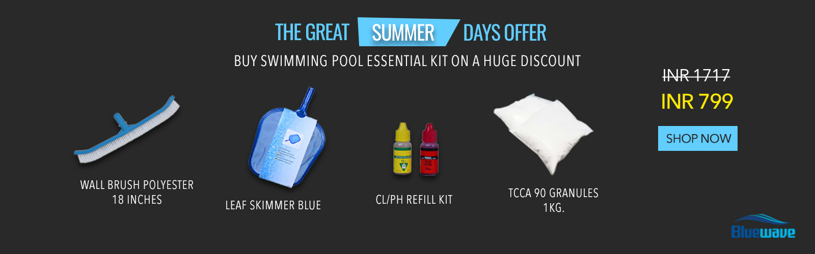 Great Summer offer for Swimming Pool Equipment